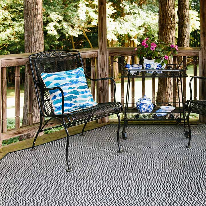 relax splinter-free with madrona covering your deck (in color ebony)