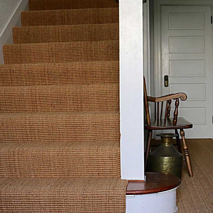 contract coir on stairs and in hallway