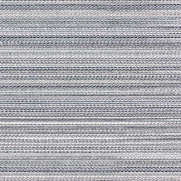 top view of fjord stripes area rug in color tourmaline