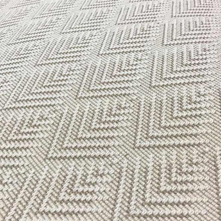 zoom out: the distinctive pattern of freital in color taupe
