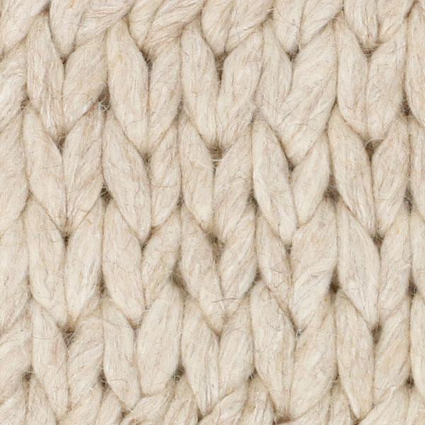 bar harbor weave feels like your favorite cozy wool sweater (shown in sisal)