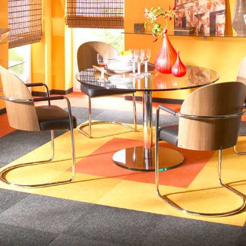 bold: a custom prep tile installation for an unforgettable dining room