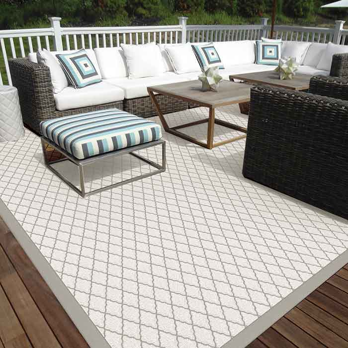 define your outdoor space: glen cove in shell