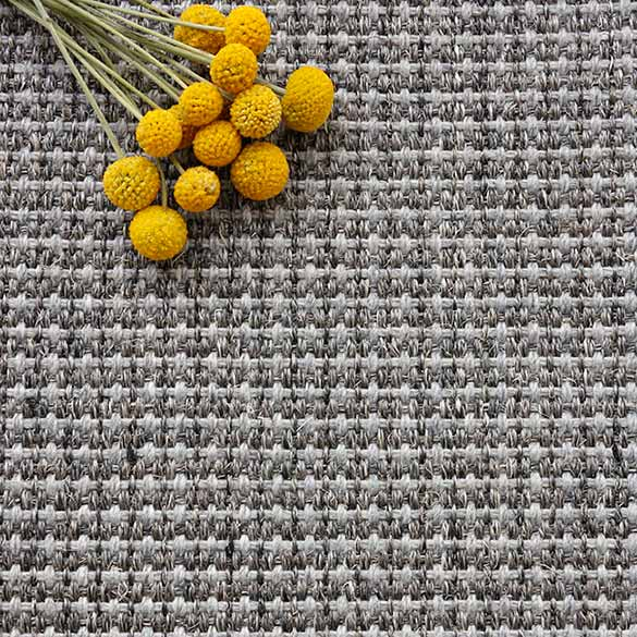 basketweave up close: orchid in gunmetal