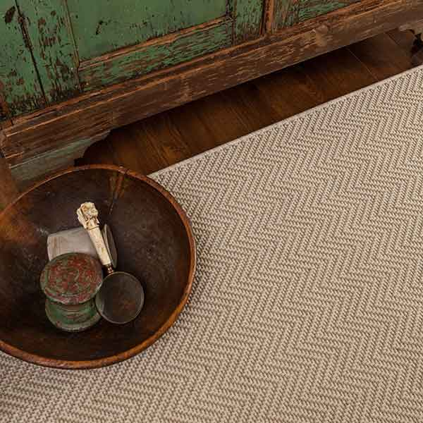 newport with pleasing herringbone pattern shown in wheat