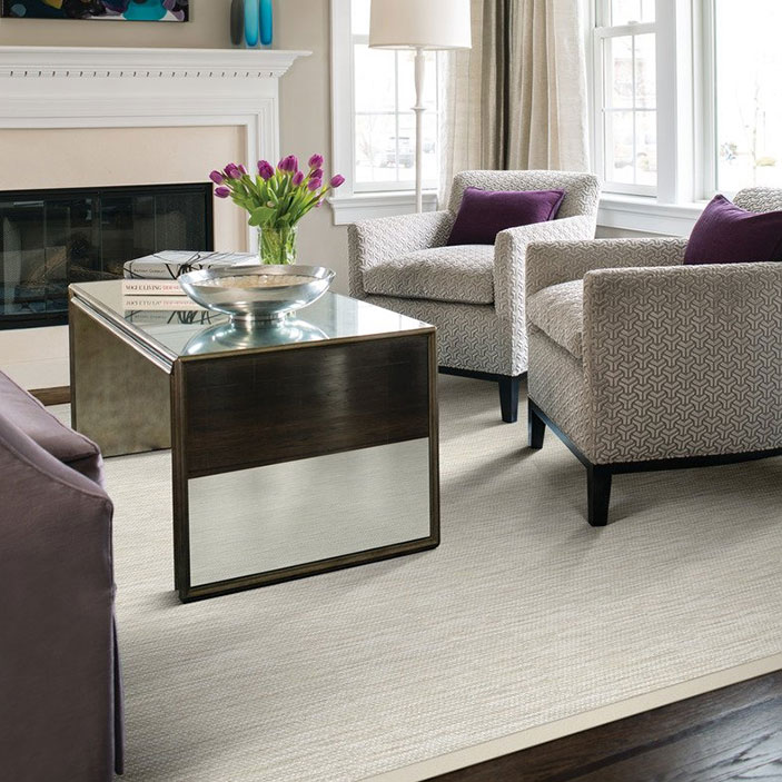 adding elegance: lucerne as a bound area rug