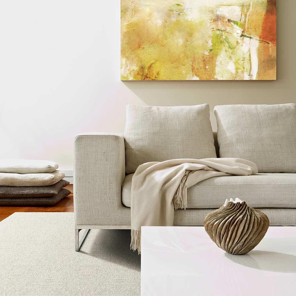 harmony: bring a natural & chemical free wool rug into your living space (rainier in color aspen)