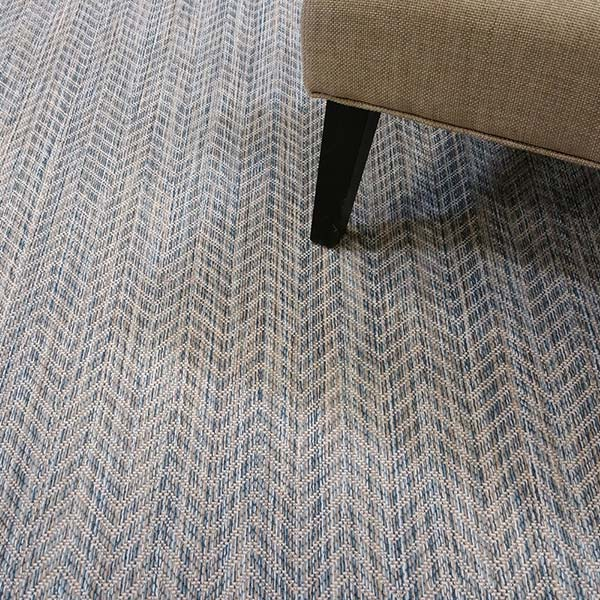 freshen up: riverbed's herringbone pattern in color shallow water