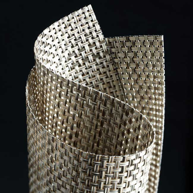 close-up: chilewich basketweave wall cover