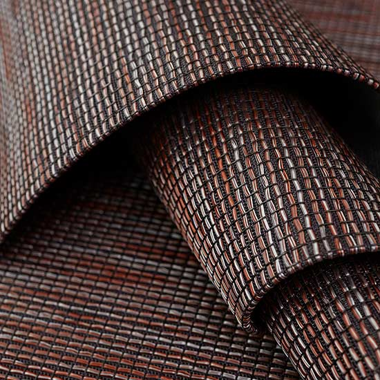 woven texture: wabi sabi in color sienna