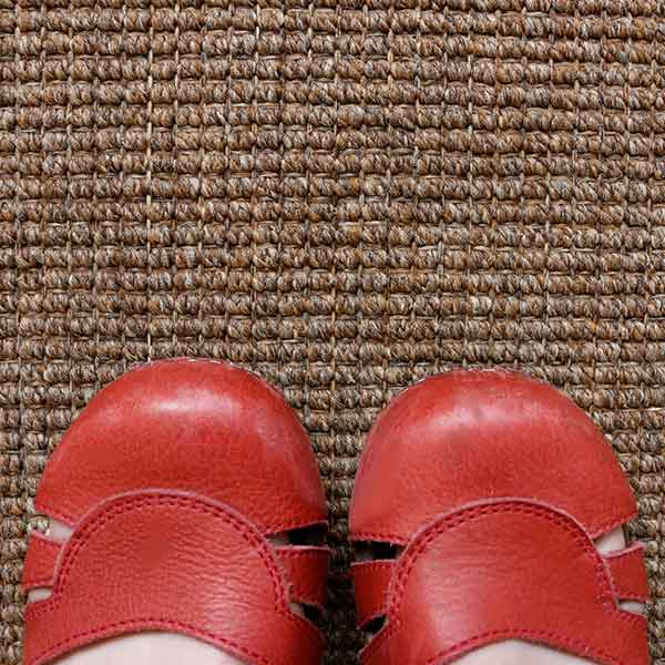 soft underfoot and no need to worry about spills with our paddington weave