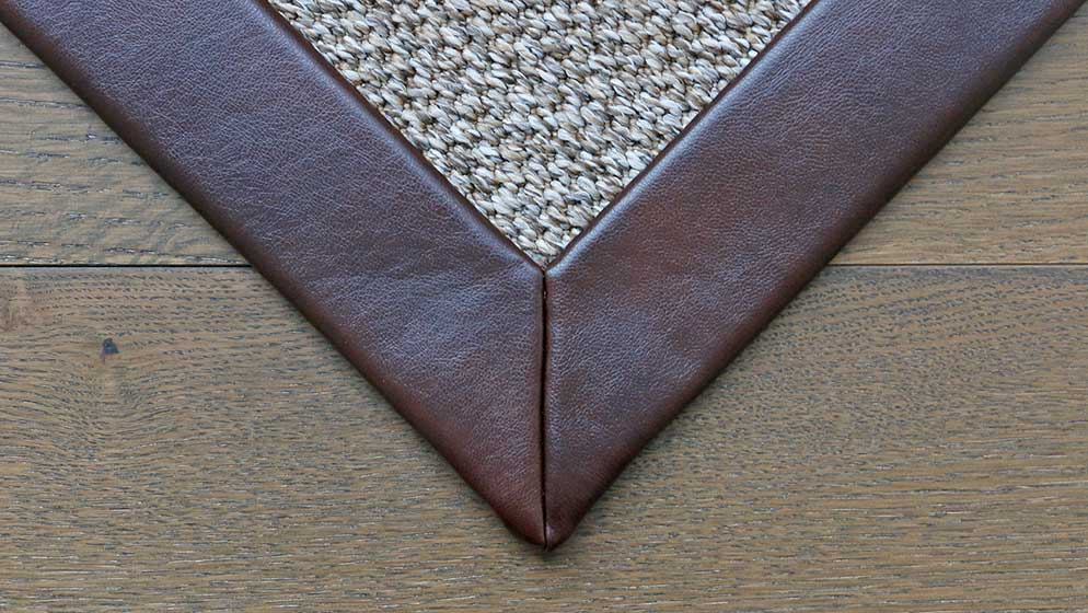 Recycled Leather Binding